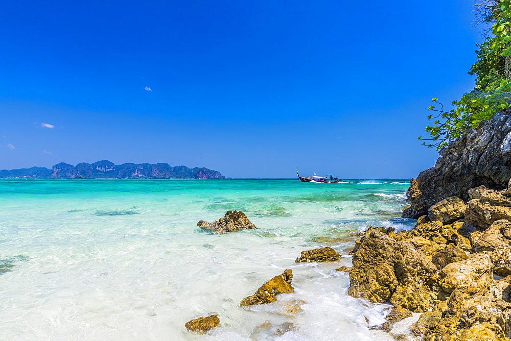 Tup Island in Ao Nang, Krabi, Thailand, Southeast Asia, Asia