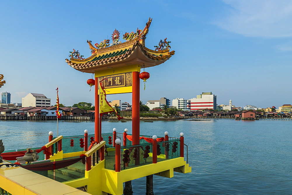 Hean Boo Thean Temple in George Town, Penang Island, Malaysia, Southeast Asia, Asia.