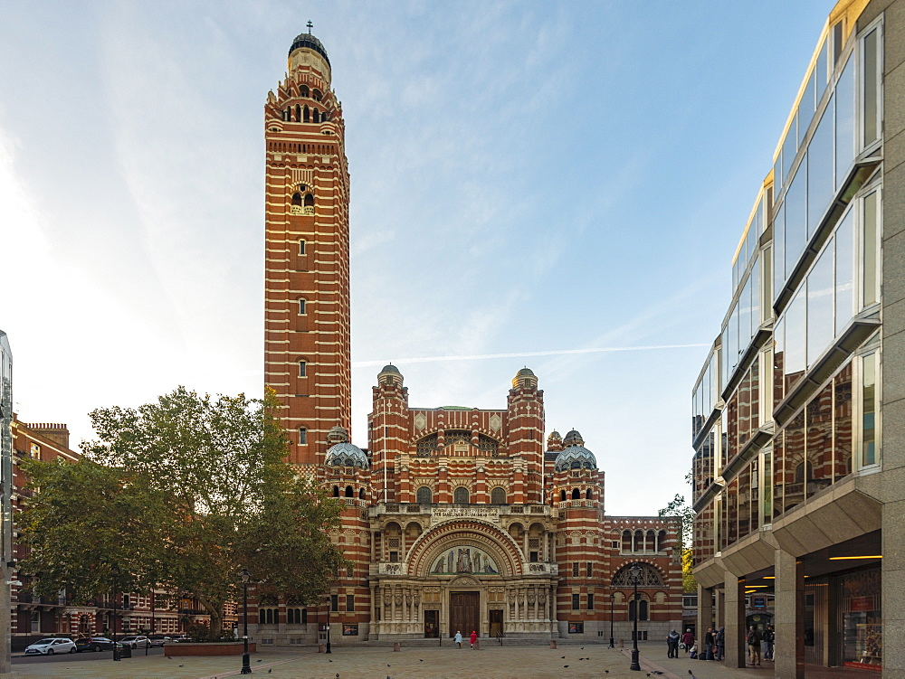 Westminster Cathedral at Cathedral Piazza, Victoria Street - 1300-163