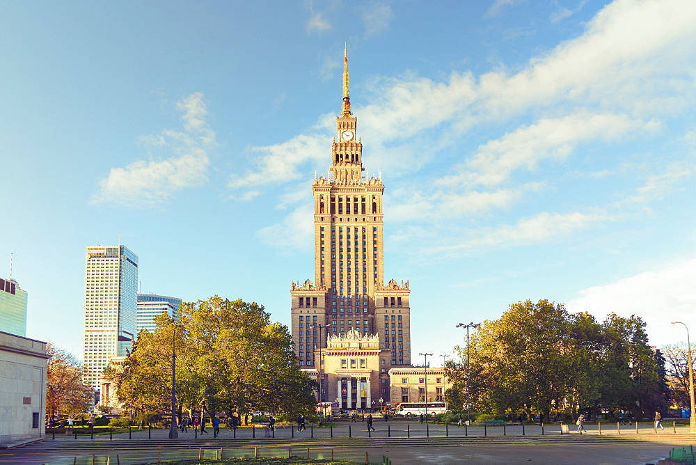 Palace of Culture and Science, Pałac Kultury i Nauki, built in the 1950's - 1300-187