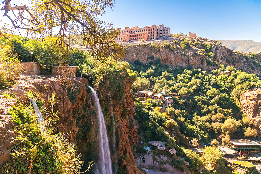 Ouzoud Waterfalls are located near the Moyen Atlas village of Tanaghmeilt, in the province of Azilal - 1300-249
