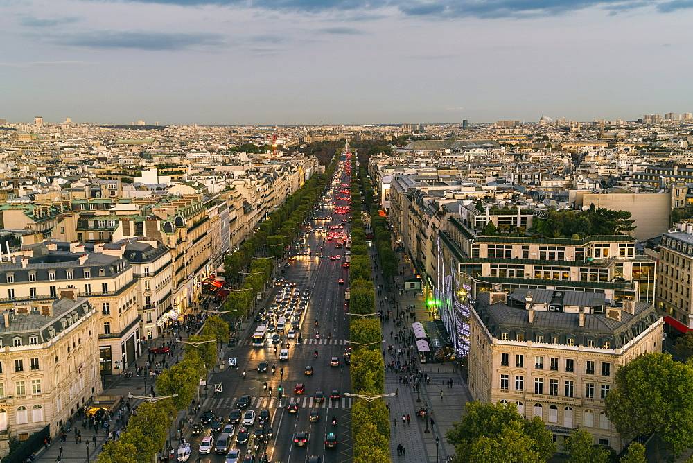 Avenue des Champs-Elysees, Paris, France, Europe
