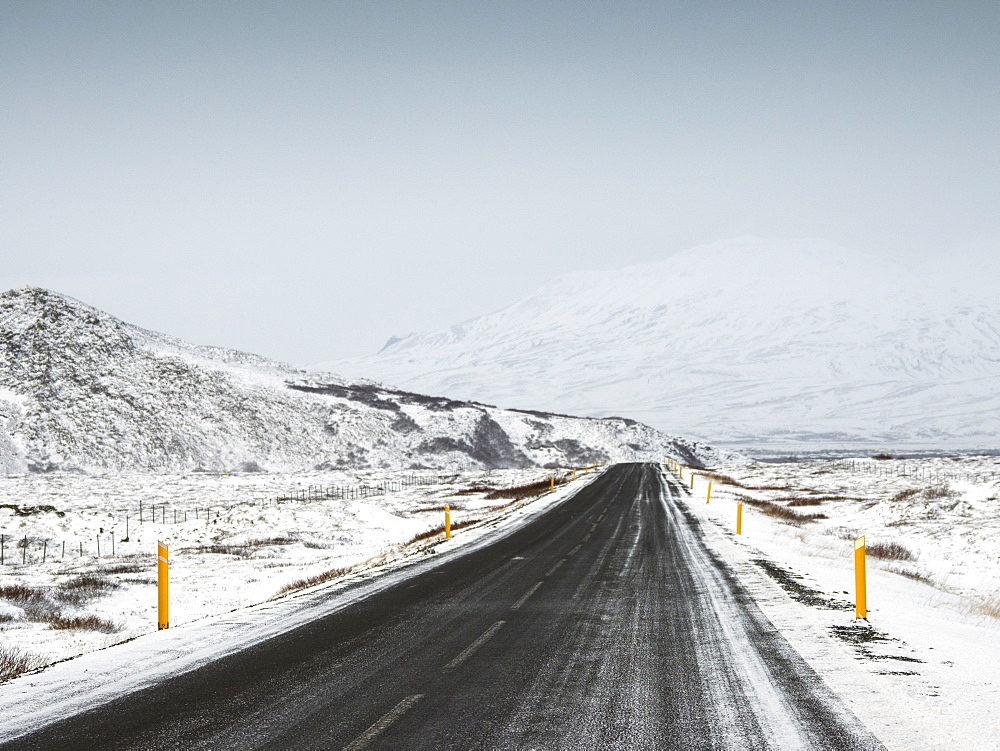 Road 36, Thingvellir National Park, UNESCO World Heritage Site, Iceland, Polar Regions