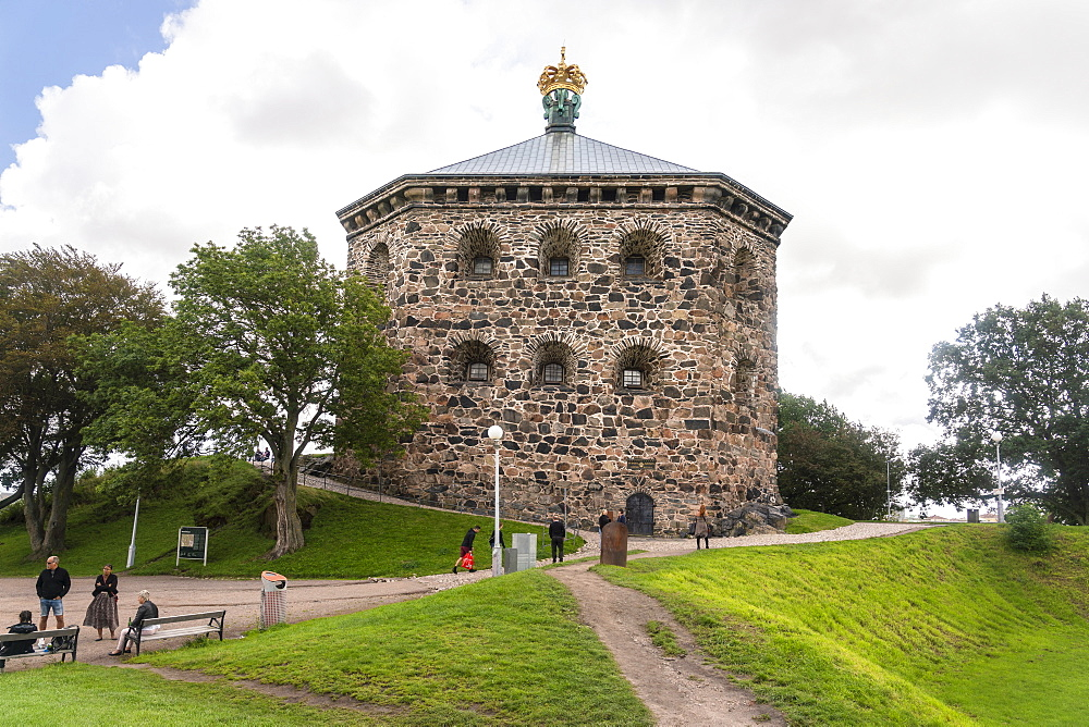 Skansen Kronan historic fortress in Haga, Gothenburg, Sweden, Scandinavia, Europe