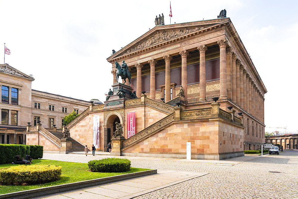 Alte national Galerie Museum for historic paintings in Museums island