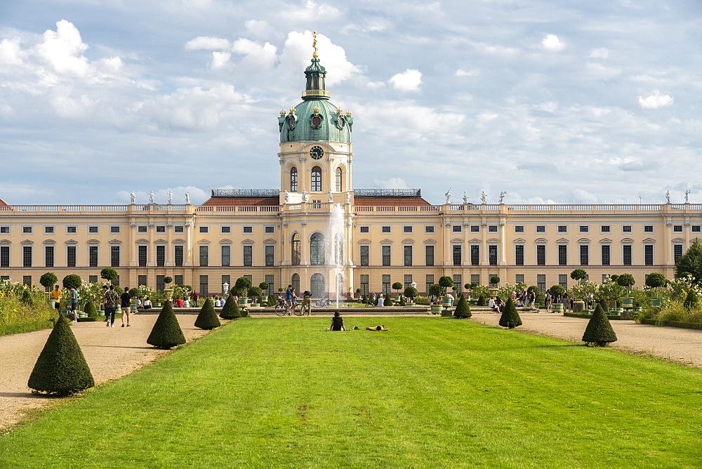 Charlottenburg Palace in summer, Berlin, Germany, Europe - 1300-482