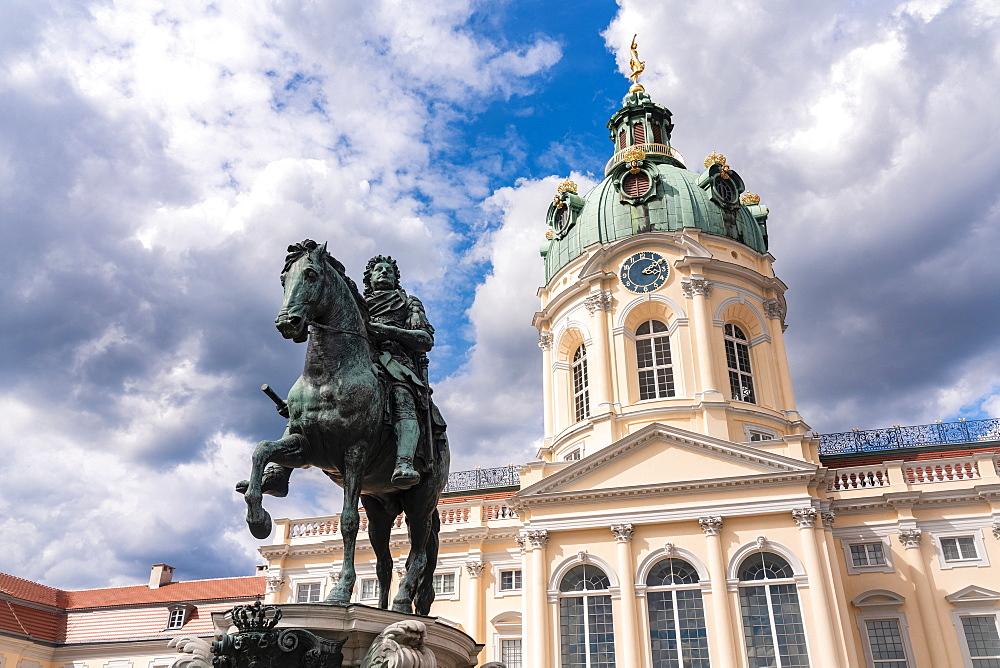 Charlottenburg Palace in summer, Berlin, Germany, Europe - 1300-484
