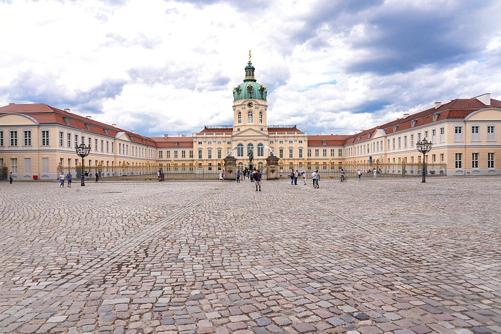Charlottenburg Palace in summer, Berlin, Germany, Europe - 1300-486
