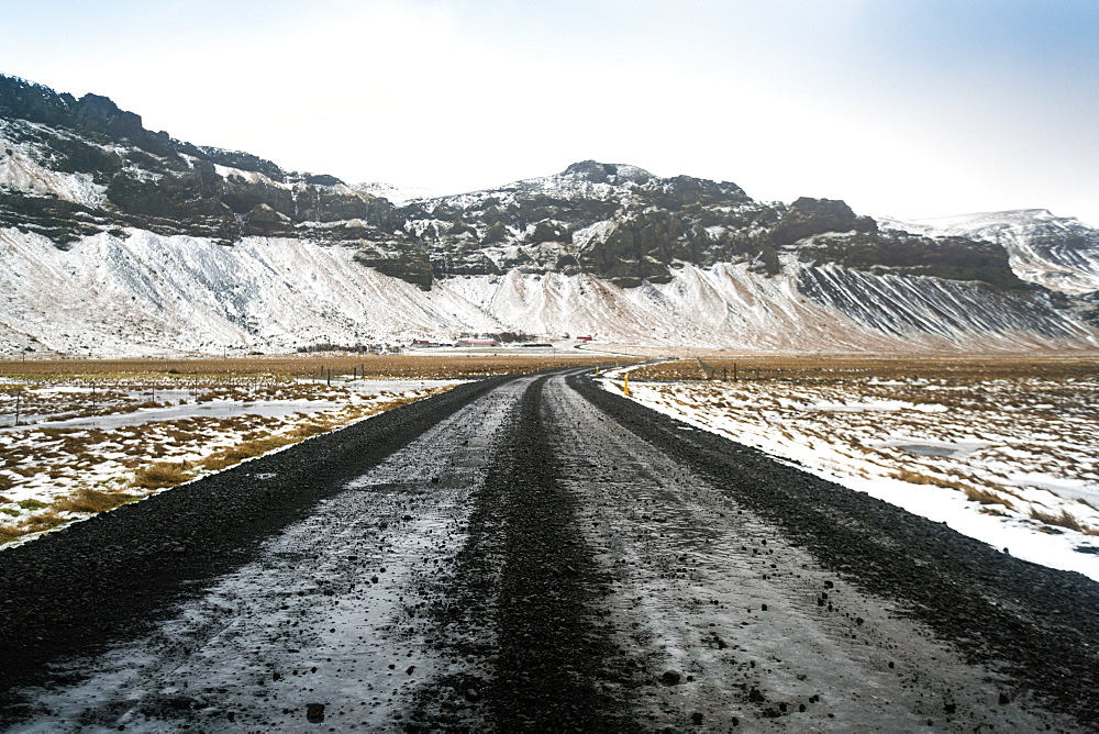 Ring road, highway No. 1 in Iceland that goes around the whole island, Iceland, Polar Regions