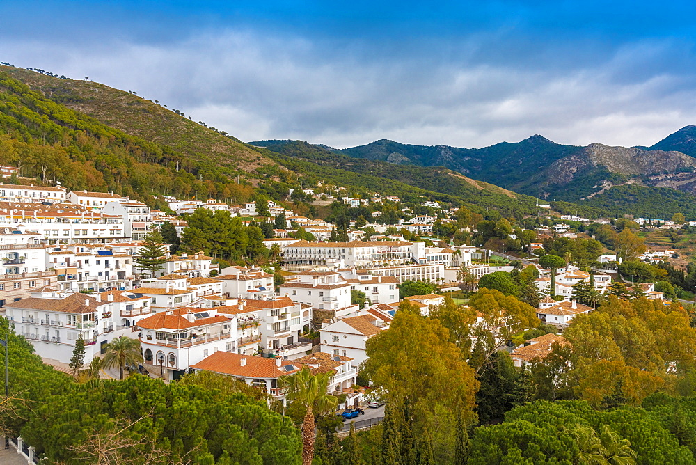 Mijas historic old white town village in Andalucia in Spain - 1300-98