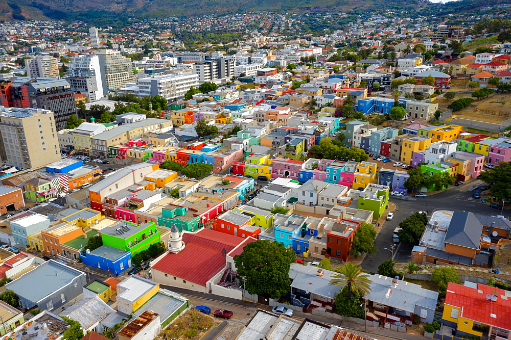Bo-Kaap, located in between the city centre and the foot of Signal Hill, Cape Town, South Africa, Africa - 1304-78