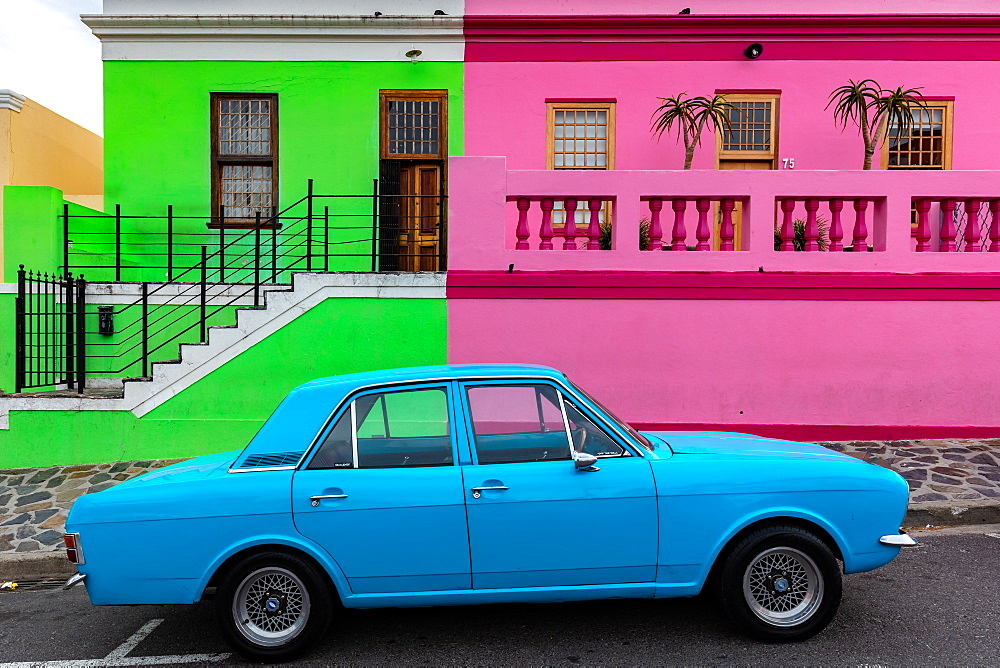 Bo-Kaap, located in between the city centre and the foot of Signal Hill, Cape Town, South Africa, Africa - 1304-79