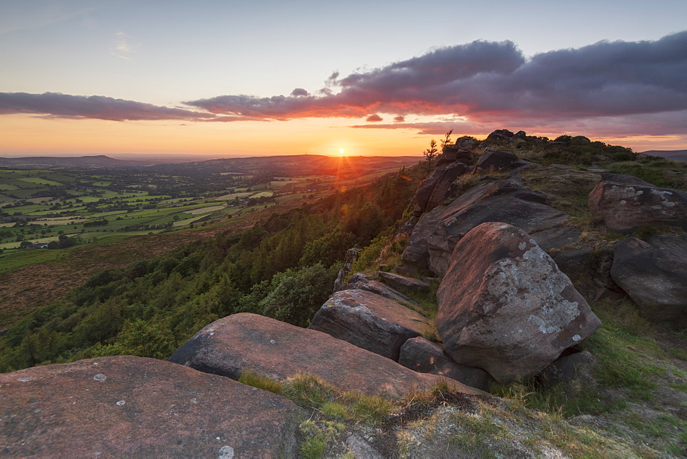 Sunset at The Roaches, Peak District National Park, Staffordshire