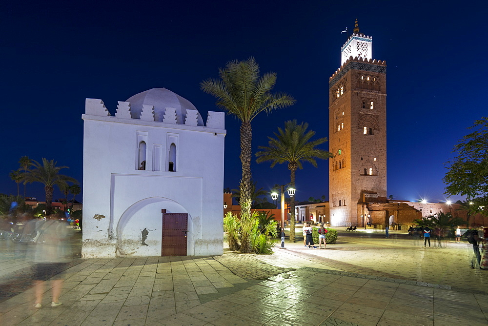 Koutoubia Mosque, UNESCO World Heritage Site, Marrakech (Marrakesh), Morocco, North Africa, Africa - 1306-756