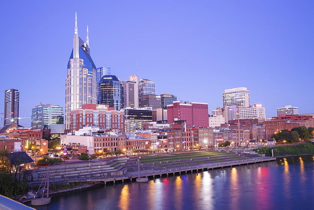 Skyline, Nashville, Tennessee, United States of America, North America