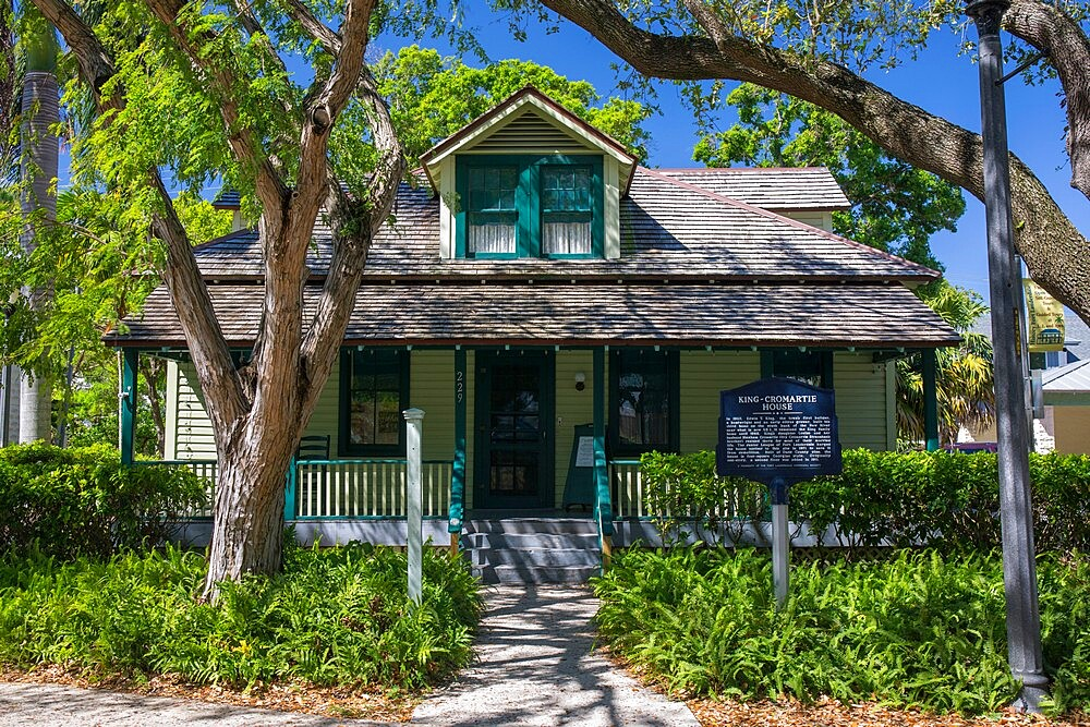 The historic King-Cromartie House, Old Fort Lauderdale Village, Riverwalk Park, Downtown, Fort Lauderdale, Florida, USA - 1310-265
