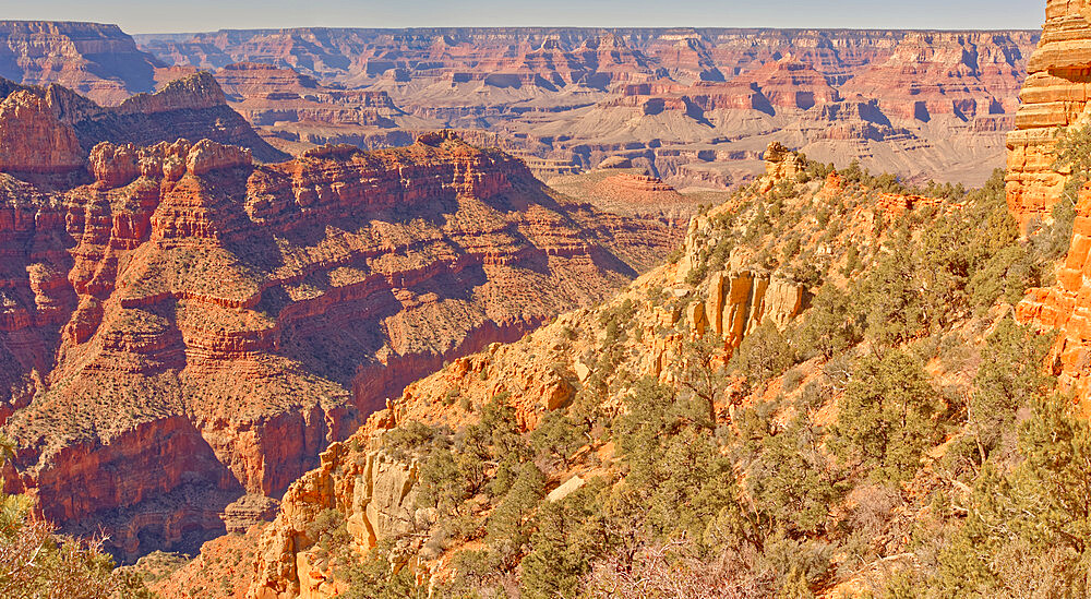 The Bow Rock of the formation called Sinking Ship in Grand Canyon National Park. This rock marks the front of the formation. - 1311-309