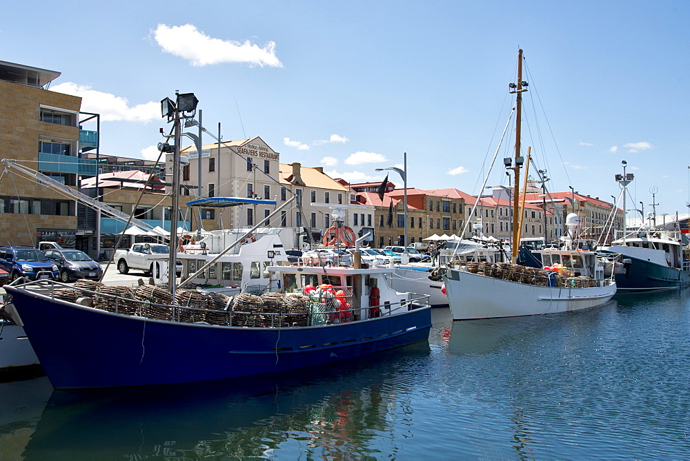 Harbor in Hobart, Tasmania, Australia, Pacific