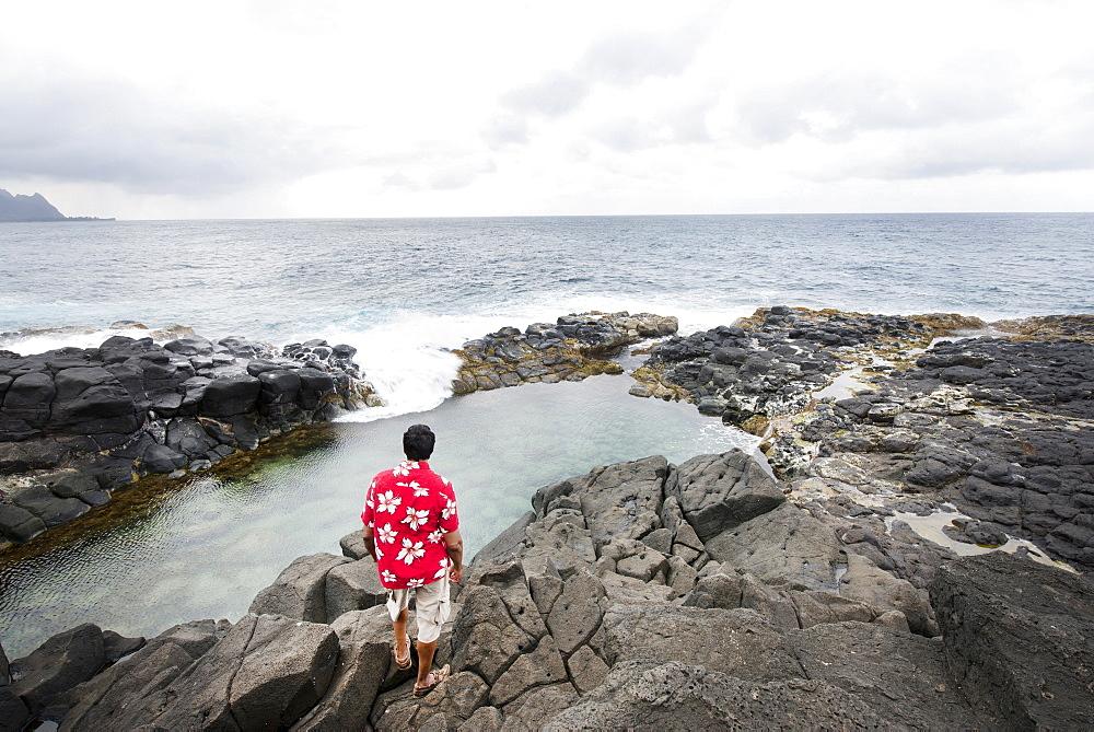Queen's Bath, Kauai, Hawaii, United States of America, North America