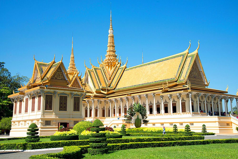 Royal Palace, Phnom Penh, Cambodia, Indochina, Southeast Asia, Asia - 1315-288