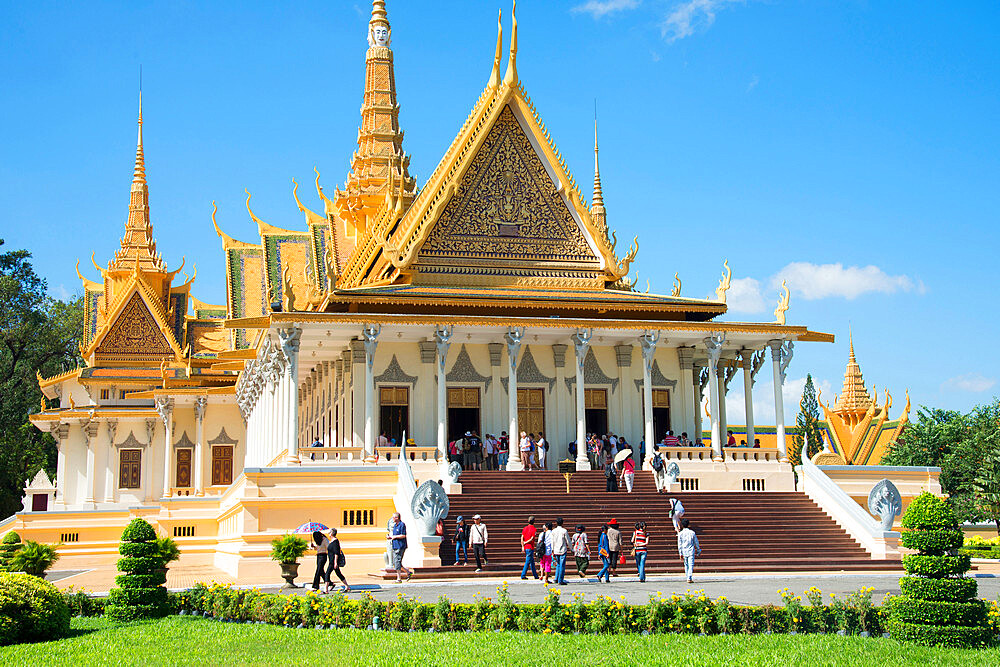 Royal Palace, Phnom Penh, Cambodia, Indochina, Southeast Asia, Asia