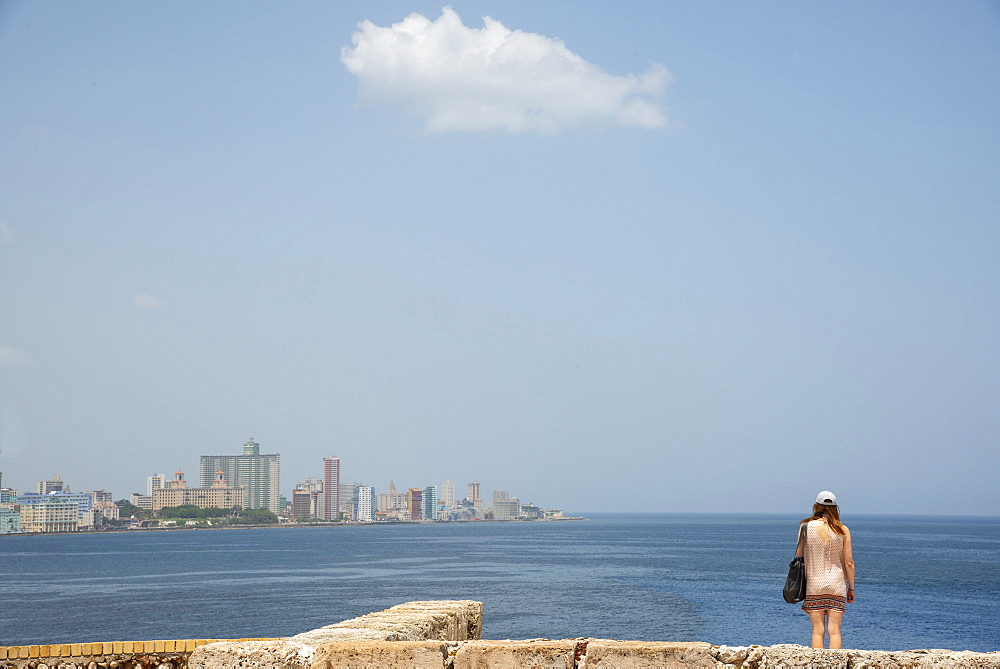 View of Havana skyline, Cuba, West Indies, Caribbean, Central America