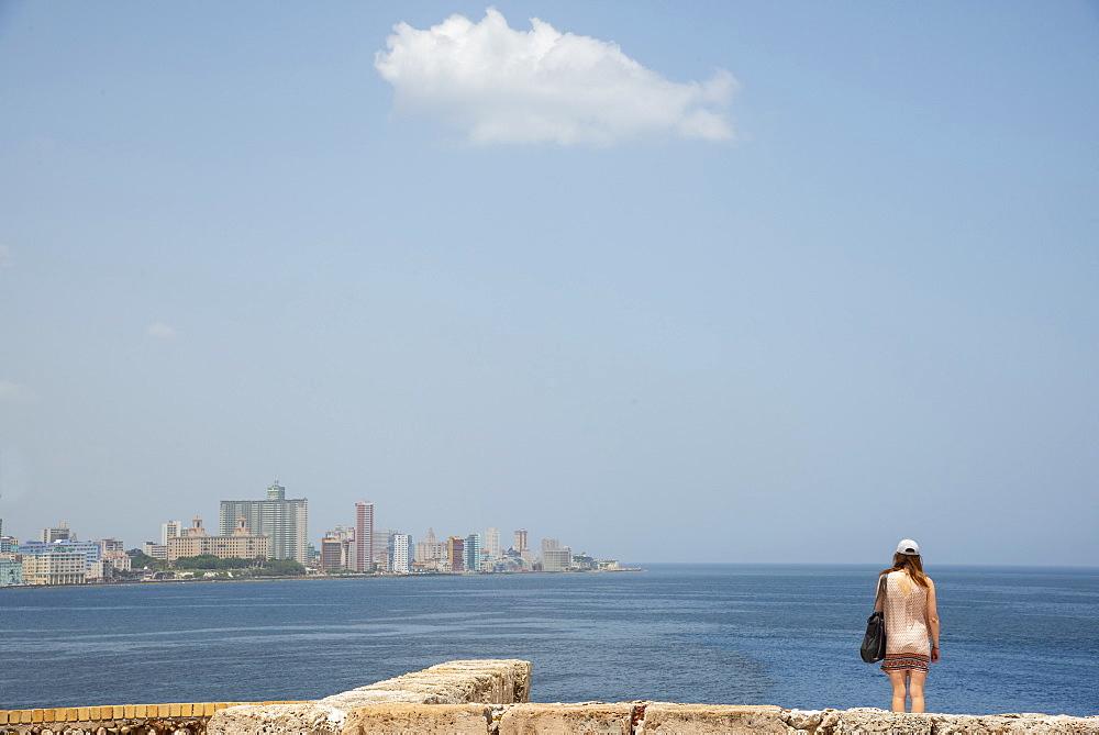 View of Havana, Cuba skyline. Model released