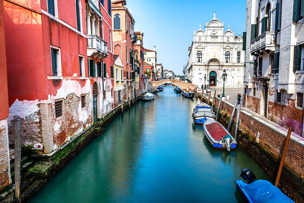 Canal in Venice, Italy - 1316-5
