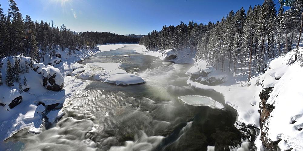 Yellowstone River, Montana, United States of America, North America