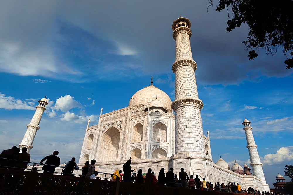 Taj Mahal, UNESCO World Heritage Site, Agra, Uttar Pradesh, India, Asia