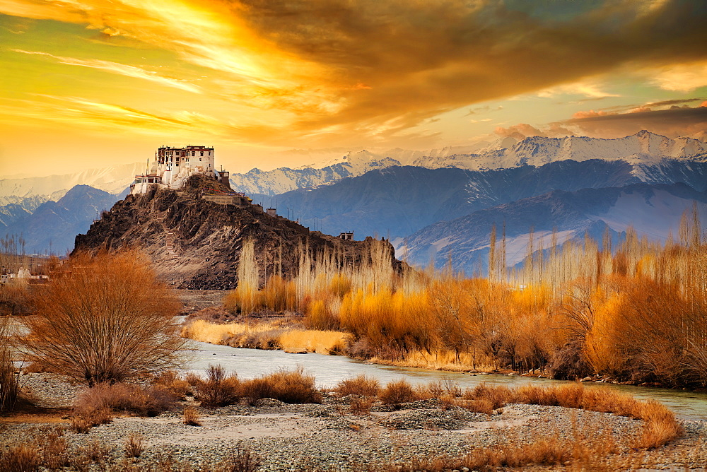 Stakna Monastery or Stakna Gompa is a Buddhist monastery of the Drugpa sect in Stakna, Leh district, Ladakh, northern India,