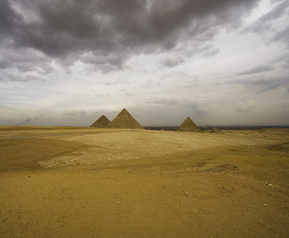 The Pyramids of Giza, Cairo Egypt - 1320-18