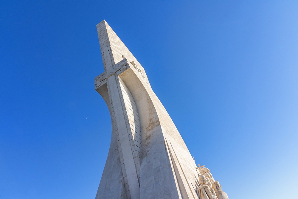 Monument of the Discoveries (Padrão dos Descobrimentos) celebrates Portuguese Age of Exploration in 15th&16th C Opened in 1960.