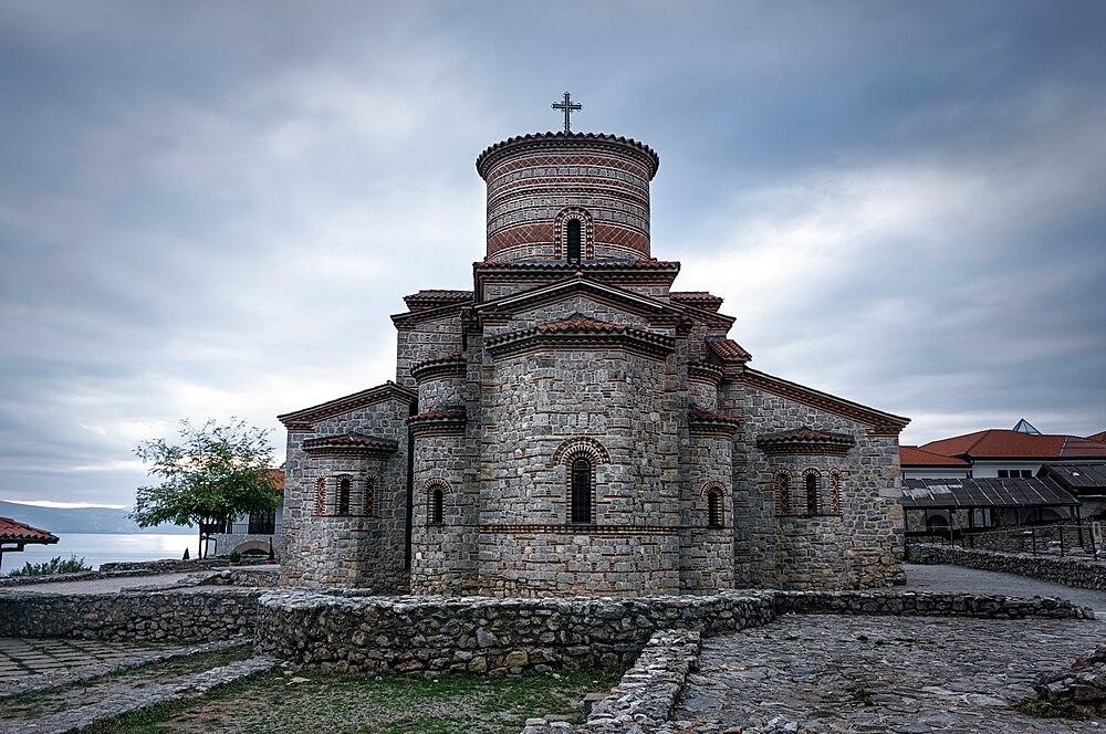 Byzantine Church of saints Clement and Panteleimon, Ohrid, North Macedonia - 1336-120