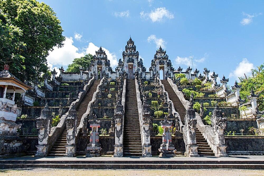 Pura Lempuyang temple stairs, Bali, Indonesia - 1336-170