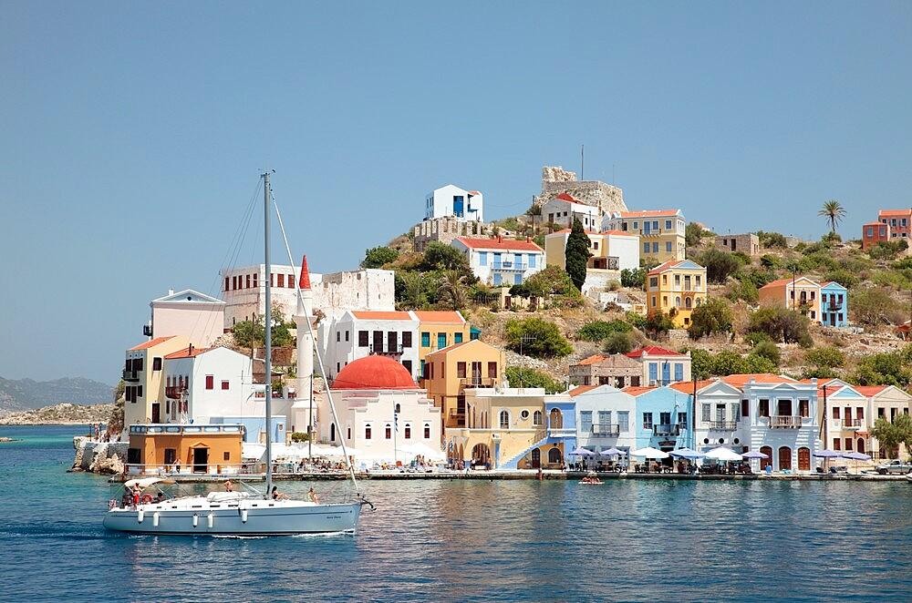 Kastellorizo or Castellorizo (also known as Meis by Turkey), Dodecanese Islands - 1338-12