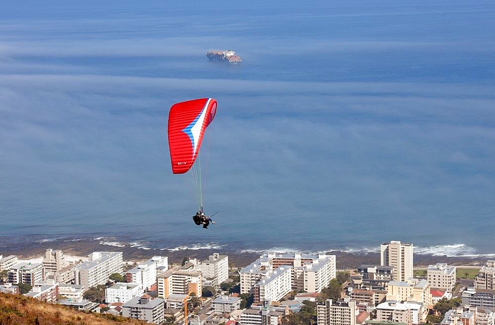 Paragliding over Sea Point, Cape Town - 1338-13