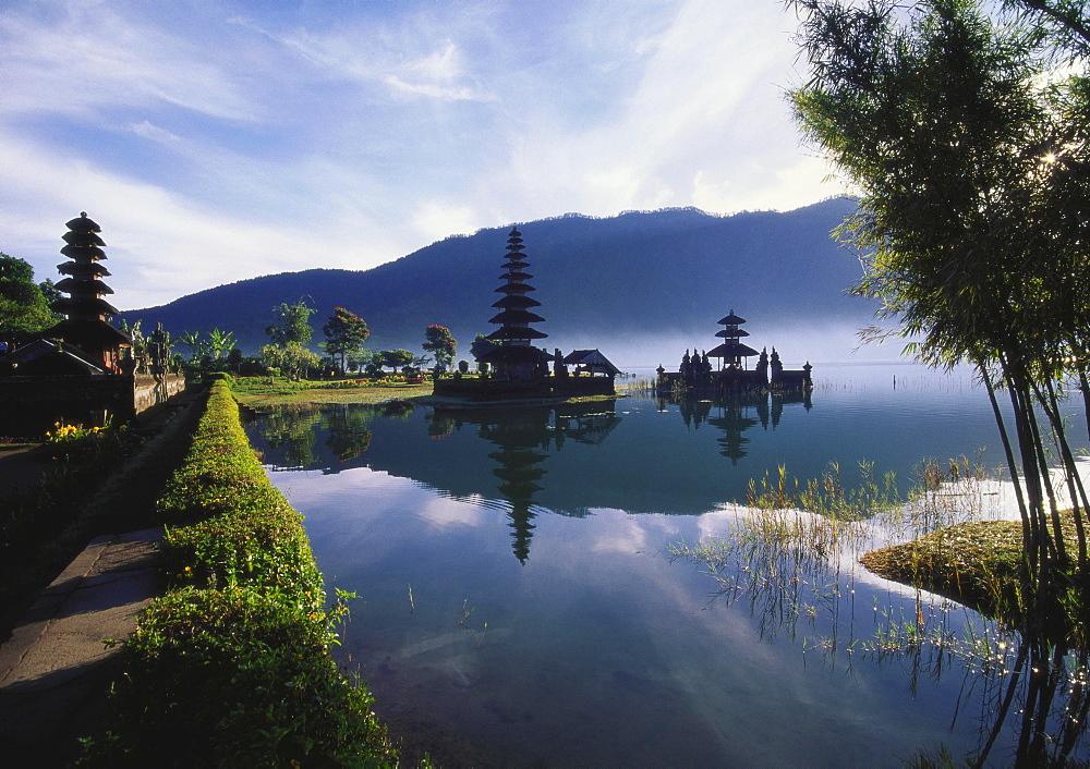 Hindu Temples at Lake Bratan, Pura Ulu Danau, Bali - 142-4411