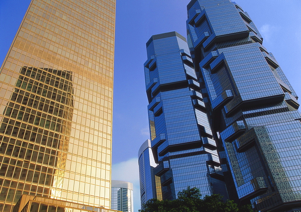 Far East Finance Centre and Lippo Centre, Chinachem Golden Plaza, Admiralty, Hong Kong