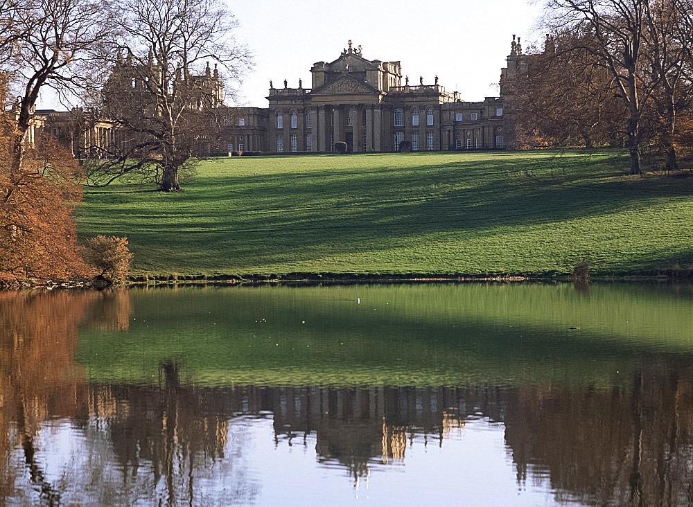Blenheim Palace, UNESCO World Heritage Site, Oxfordshire, England, United Kingdom, Europe