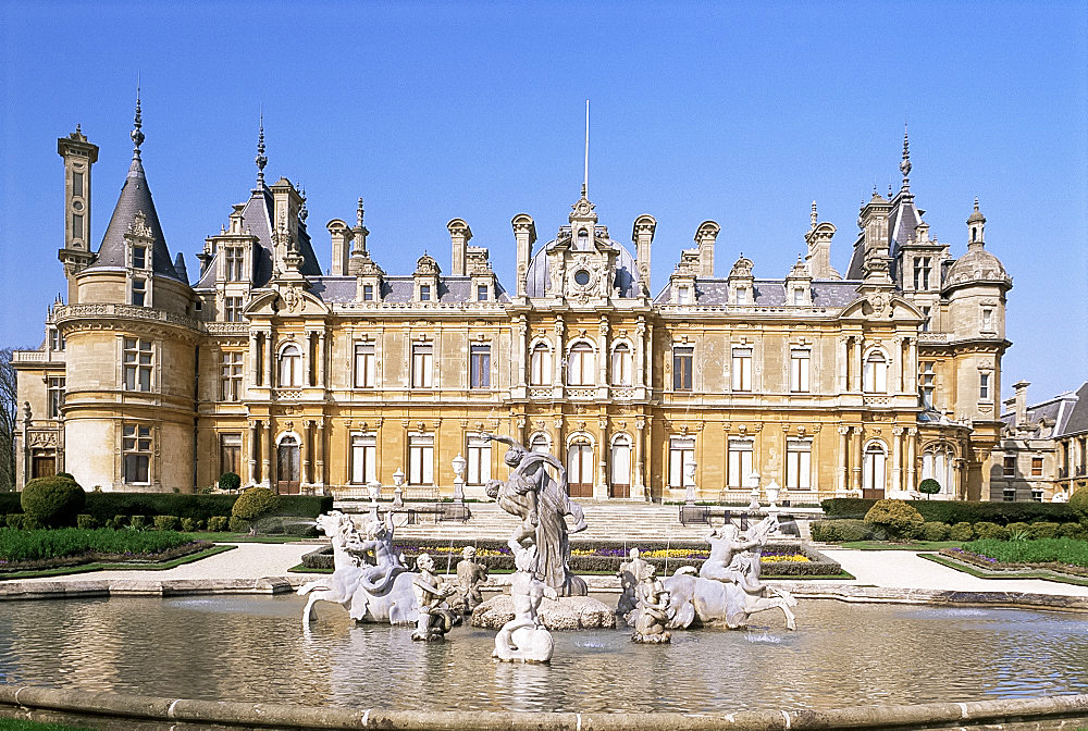 Waddesdon Manor, Buckinghamshire, England, United Kingdom, Europe