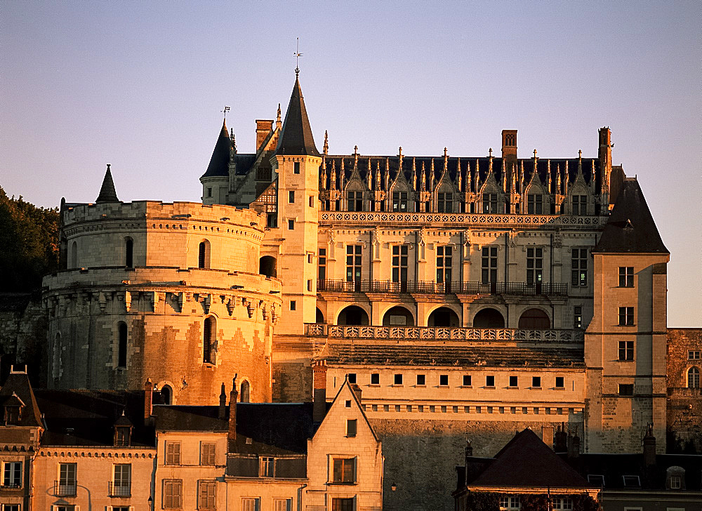 Chateau, Amboise, Centre, France, Europe