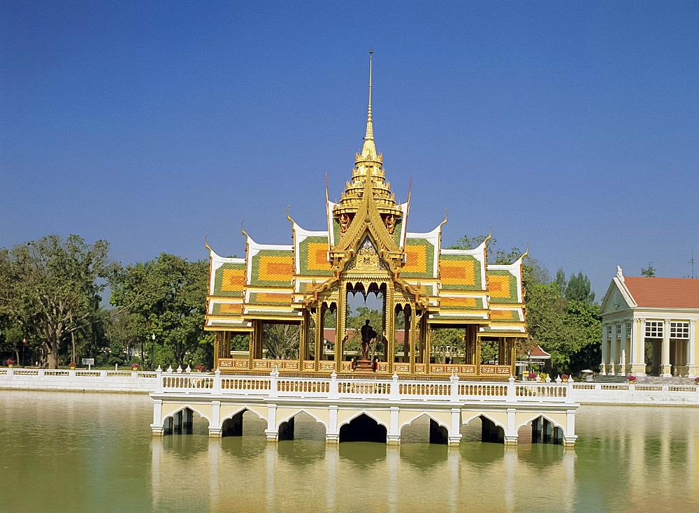Phra Thinang Aiswan Thipha-at Pavilion, Bang Pa-in Palace, Nakhon Si Ayutthaya Province, Thailand