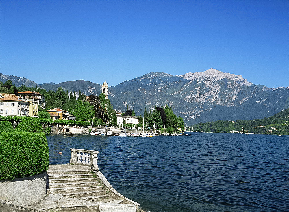 View from Bolvedro, Lake Como, Lombardy, Italian Lakes, Italy, Europe