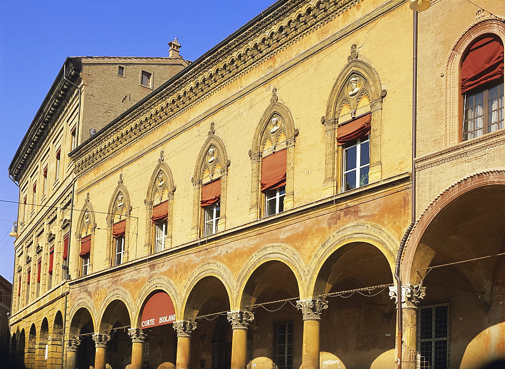 San Stefano arcade, Bologna, Emilia-Romagna, Italy, Europe