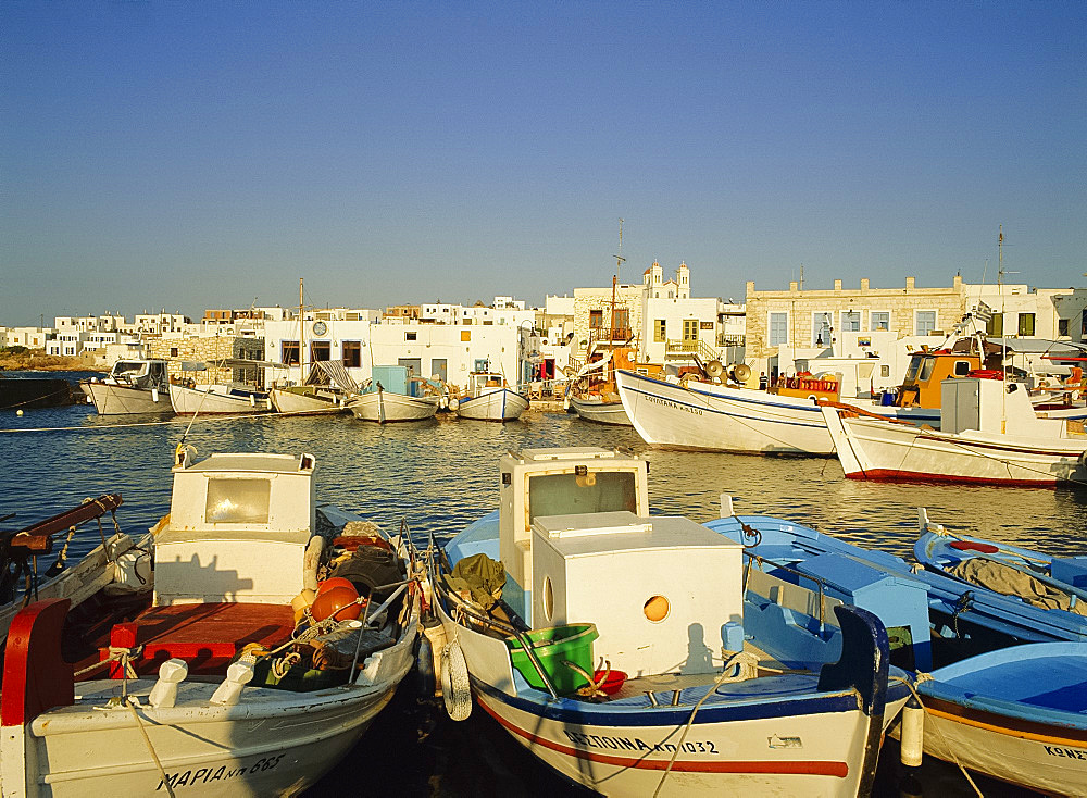 Naousa, Paros, Cyclades Islands, Greece, Europe