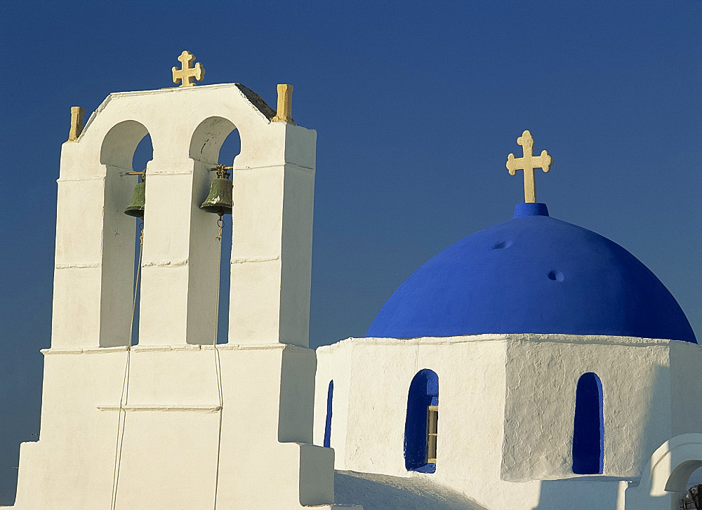 Church, Naousa, Paros, Cyclades, Greek Islands, Greece, Europe