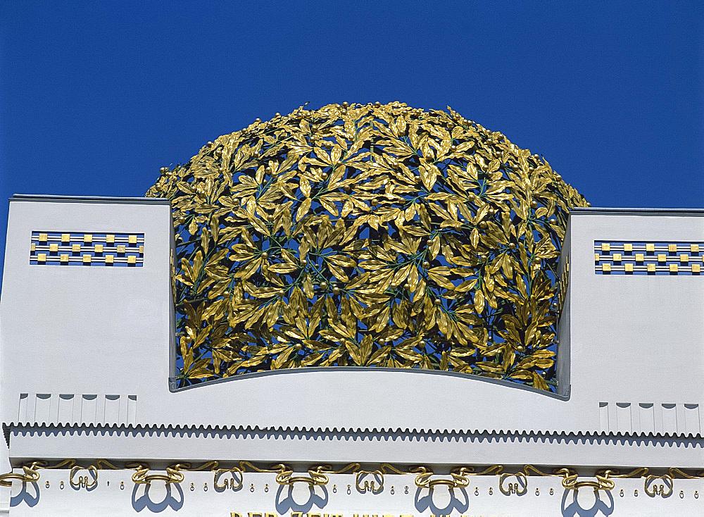 Secession Building by Joseph Maria Albrich, Vienna, Austria, Europe
