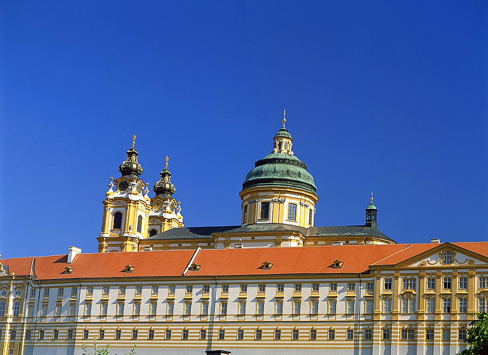 Melk Abbey, Melk, Austria, Europe