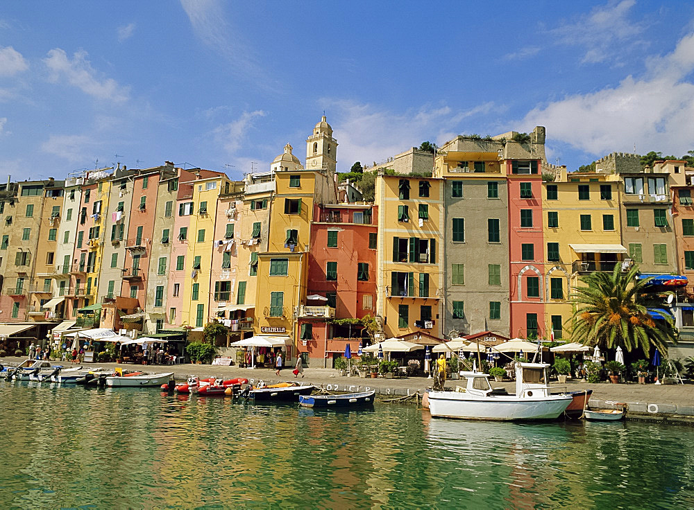 The harbour at Portovenere, Liguria, Italy - 149-4751